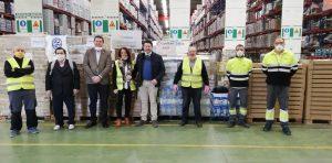 Colaboración Rotary Club Granada con el Banco de Alimentos