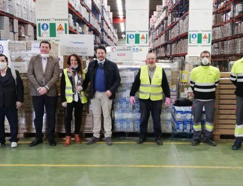Rotary Club Granada realiza donación al Banco de Alimentos de Granada