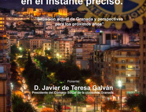 28/01/20 Conferencia RCG – Granada en el instante preciso