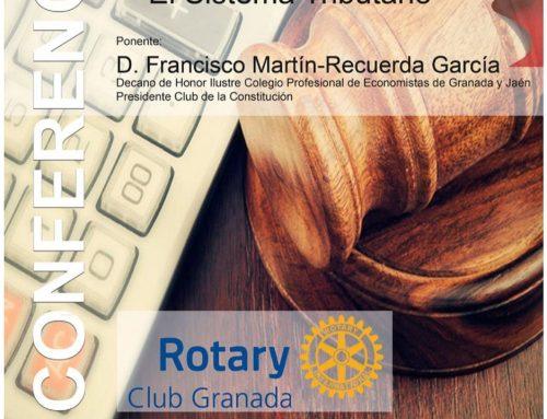 25/11/19 Conferencia RCG – La Constitución Española y el Sistema Tributario