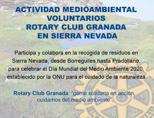 14/06/20 Actividad medioambiental en Sierra Nevada