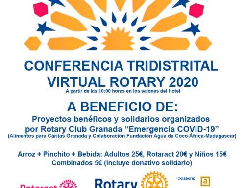20/06/20 Arroz Solidario – Confererencia Tridistrital